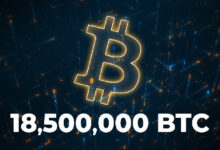 Photo of Bitcoin Network Surpasses 18,500,000 BTC in Circulation